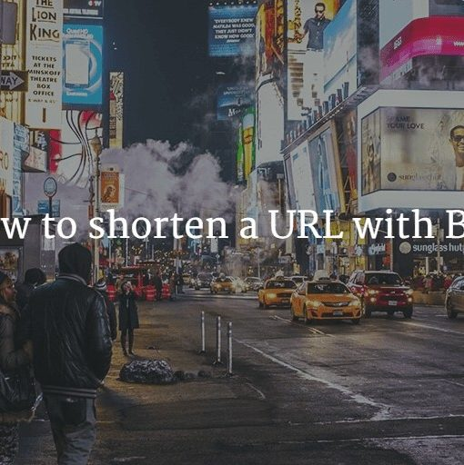 How to shorten a URL with Bit.ly